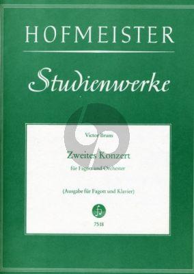 Bruns Konzert No.2 Op.15 Fagott-Orchester (KA)