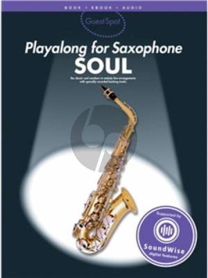 Album Guest Spot Soul Playalong Altsaxophone (Book-with Audio Online)