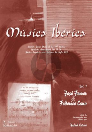 Musica Iberica Vol.1 (Jose Ferrer & Frederico Cano)