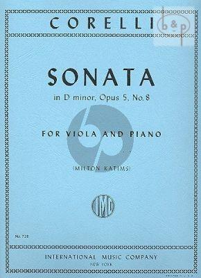 Sonata d-minor Op.5 No.8