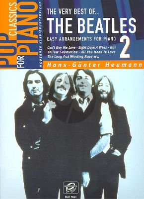 Very Best of the Beatles Vol.2 (Easy Piano Solo) (Heumann)