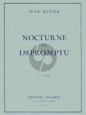 Rivier Nocturne & Impromptu pour Harpe