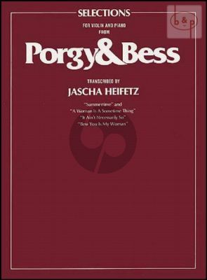 Porgy & Bess Selections Violin and Piano