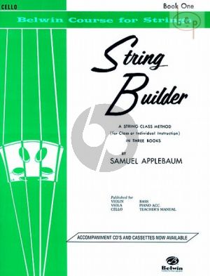 String Builder Vol. 1 for Cello