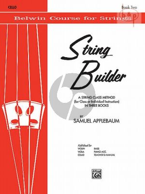 String Builder Vol. 2 for Cello