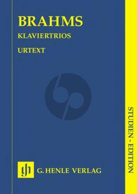 Brahms Klaviertrios Study Score (Ernst Herttrich) (Henle-Urtext)