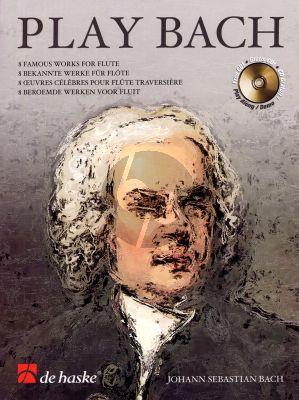 Play Bach for Flute Bk-Cd (arr. by Wim Stalman) (grade 4 - 5)