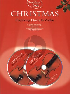 Guest Spot Christmas Duets for Violin (Bk- 2 Cd's)