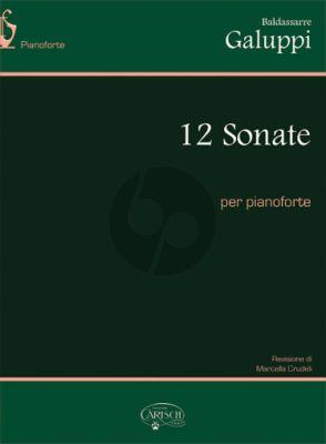 Galuppi 12 Sonatas Harpsichord (Marcella Crudeli)