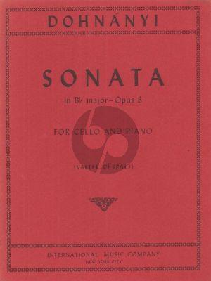 Dohnanyi Sonata B-flat major Op.8 Violoncello-Piano (Despalj)