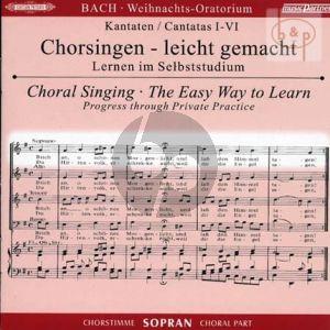 Weihnachts Oratorium BWV 248 Sopran Chorstimme