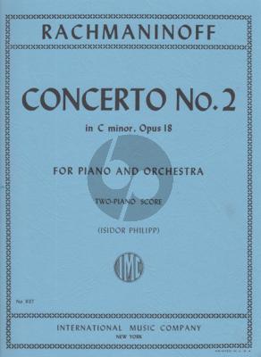 Rachmaninoff Concerto No.2 c-minor Op.18 (Piano-Orch.) (Ed.2 Piano's)