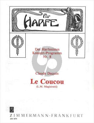 Daquin Le Coucou Harp solo (transcr. Luigi Magistretti)
