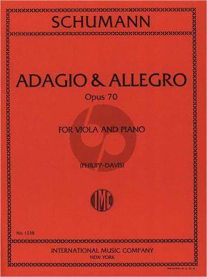 Handel Adagio & Allegro Op.70 Viola-Piano (Philipp-Davis)