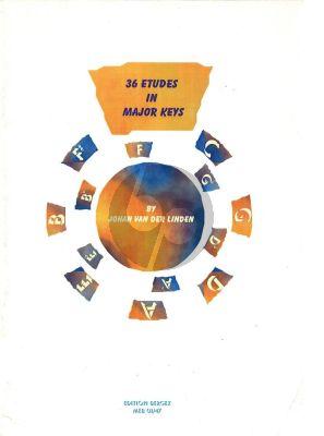Linden 36 Etudes in Major Keys Saxophone