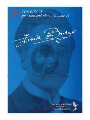 Bridge 10 Pieces Vol.1 for Viola-Piano
