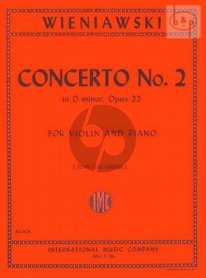 Concerto No.2 Op.22 Violin-Piano