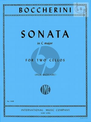 Sonata C-major 2 Cellos
