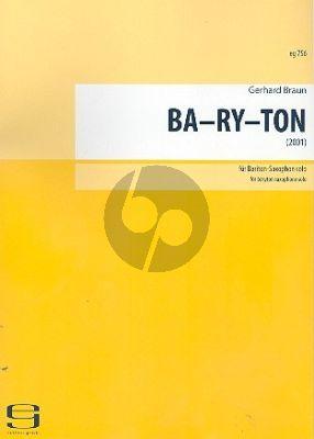 Braun Ba-Ry-Ton Baritonsaxophon solo