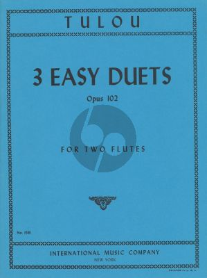 Tulou 3 Easy Duets Op.102