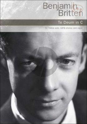 Te Deum in C-major Soprano solo-SATB-Organ