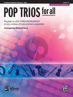 Pop Trios for All for Trombone