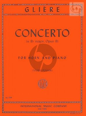 Concerto Op.91 B-flat major Horn-Piano