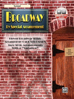 Broadway by Special Arrangement for Trumpet (Bk-Cd) (edited by Carl Strommen)