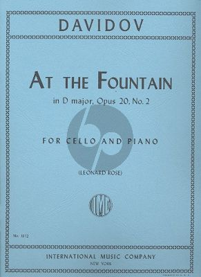 At the Fountain Op.2 No.2