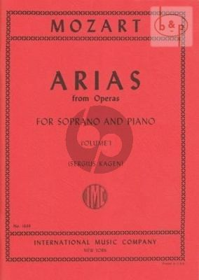 Mozart 40 Arias vol.1 Soprano (Sergius Kagen) (with English translations)