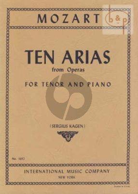 10 Arias (Tenor)