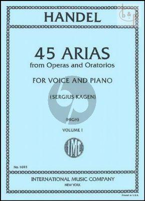 45 Arias vol.1 High Voice