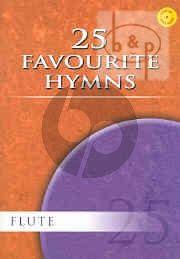 25 Favourite Hymns Flute