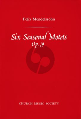 Mendelssohn 6 Seasonal Motets Op. 79 SSAATTBB (engl./germ.) (Richard Marlow)