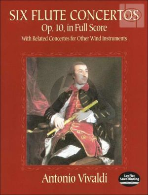 6 Concertos Op.10 (Flute-Orch.) (with related Concertos for other Wind Instr.)