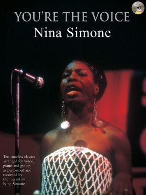 Simone You're the Voice Piano-Vocal-Guitar (Bk-Cd)