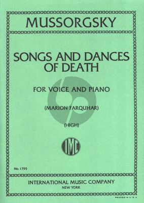 Songs & Dances of Death High Voice