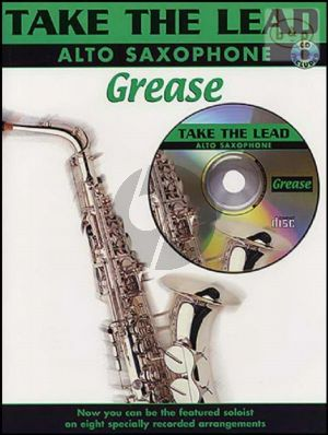 Grease Take the Lead Grease for Alto Saxophone (Bk-Cd)