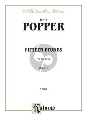 Popper 15 Studies Op.76 Violoncello
