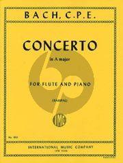 Concerto A major Flute-Piano