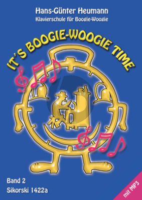 Heumann It's Boogie Woogie Time Vol.2 (Buch mit Audio online)