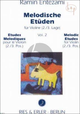 Melodische Etuden Vol. 2 Violine