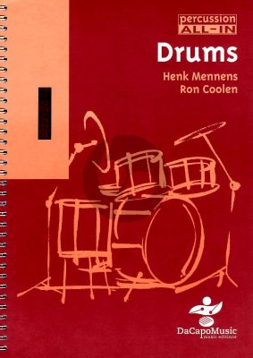 Mennens Percussion All in Vol. 1 Drums Boek-CD