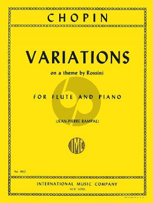Variations on a theme by Rossini Flute-Piano