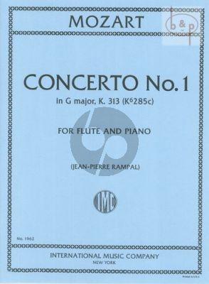 Concerto G-major KV 313