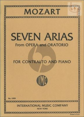 7 Arias from Opera and Oratorio