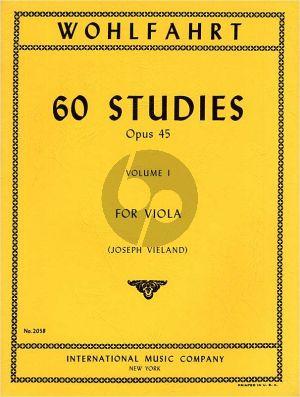 Wohlfahrt 60 Studies Op.45 Vol.1 (No.1 - 30) Viola (Joseph Vieland)