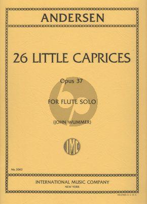 Andersen 26 Little Caprices Op.37 for Flute (John Wummer)