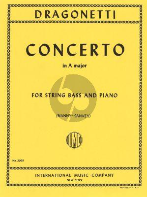 Dragonetti Concerto A-major (Nanny-Sankey) (IMC)