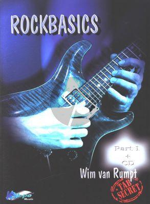 Rumpt Rock Basics Vol.1 for Guitar (TAB Secret) (Bk-Cd)